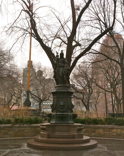 The James Fountain, January 30, 2013