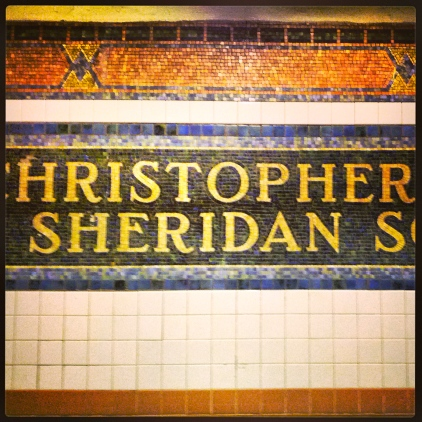 Christopher St, Sheridan Square, February 25, 2013