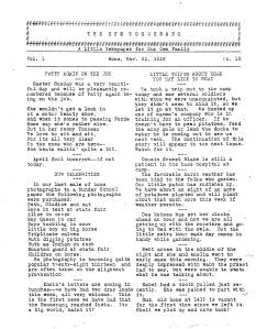 Original Boomerang, March 31, 1918