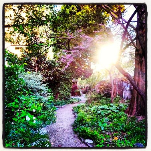 Liz Christy Community Garden, April 27, 2013
