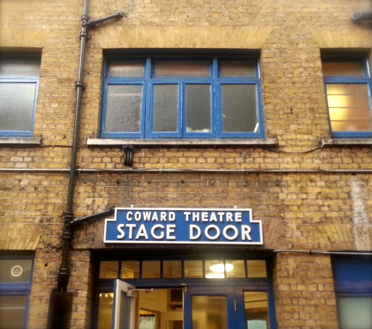 Coward Theatre Stage Door, May 30, 2013