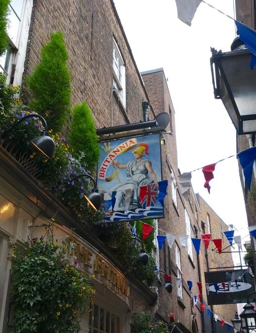 Pub Britannia, June 2, 2013