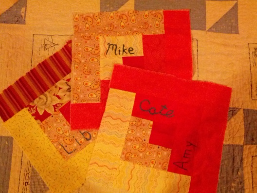 Quilt squares, July 8, 2013