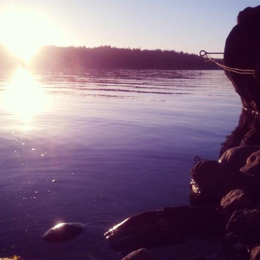 Sunset, July 26, 2013