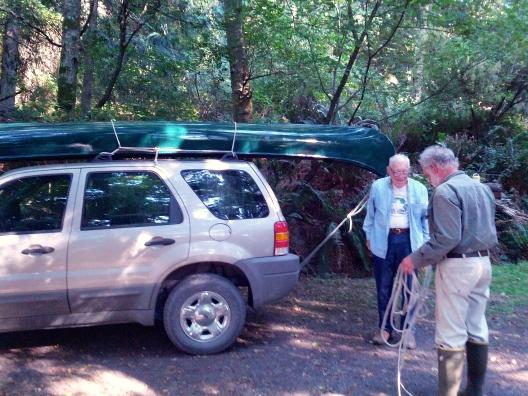 Canoe migration begins, July 28, 2013