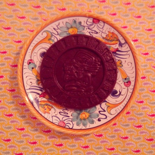 Calendrical round of chocolate, August 21, 2013