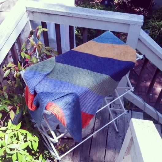 Crib blanket, August 23, 2013