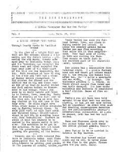 Original Boomerang, September 29, 1918
