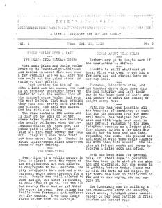 Original Boomerang, October 20, 1918