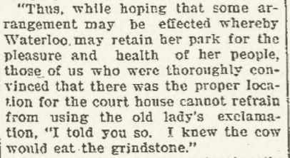 Waterloo Daily Courier, February 23, 1901