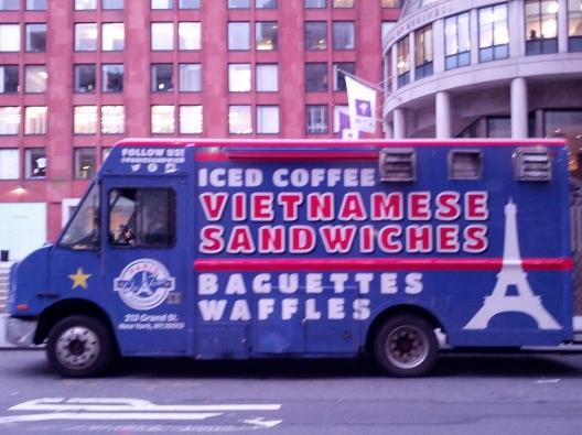 Franco-Vietnamese food truck, October 23, 2013