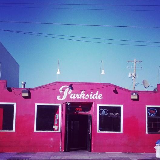 Parkside bar, October 31, 2013