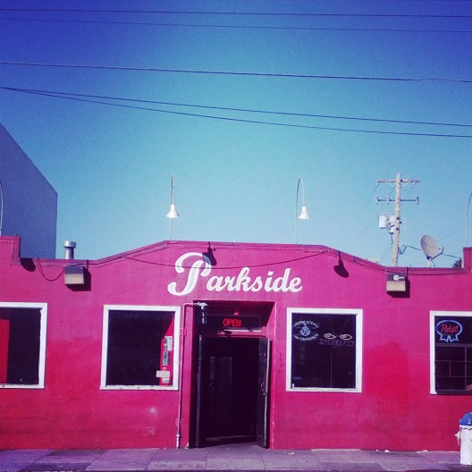 Parkside bar, October 31, 2013