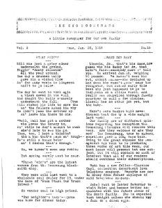 Original Boomerang for January 26, 1919