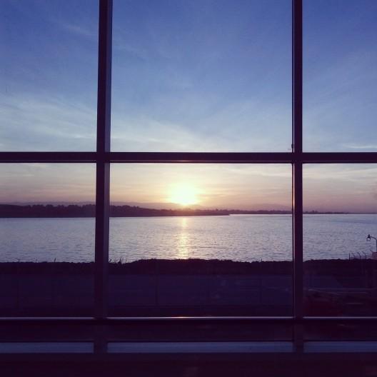 Sunrise 7:32, January 10, 2014
