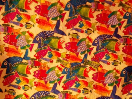 Fishy fabric, January 31, 2014