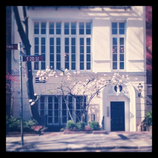 Little house on Gramercy Park, April 24, 2014