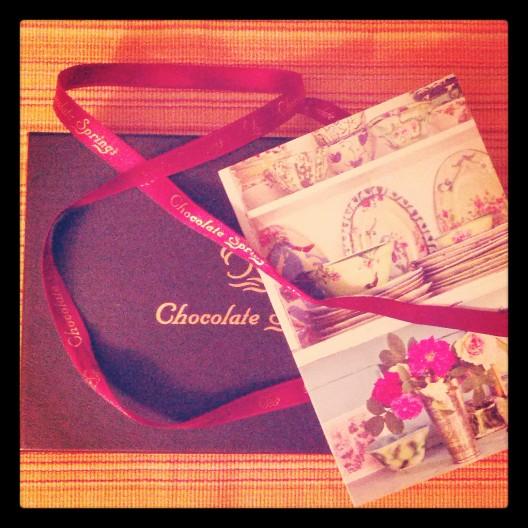 Still life with box of chocolates, April 30, 2014