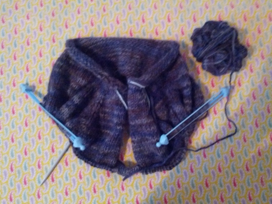 (Already!) sweater for a nearly one-year old, June 29, 2014