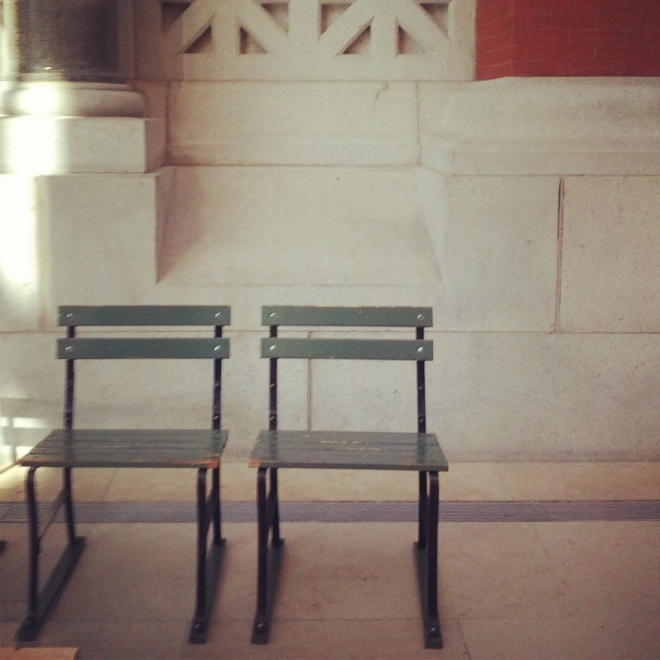Two chairs, September 27, 2014