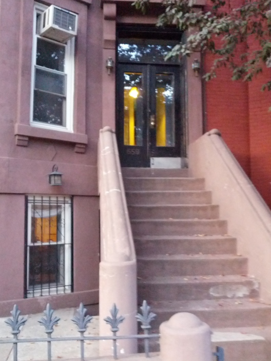 Degraw St. brownstone, September 28, 2014