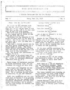 Original Boomerang, November 23, 1919