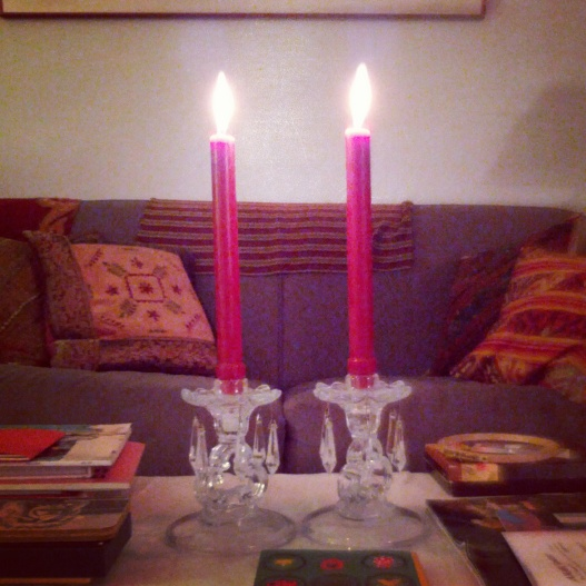 Candle duo, November 6, 2014