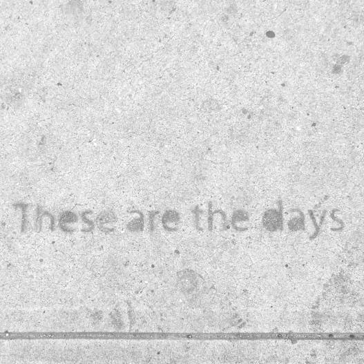More sidewalk stencil wisdom, November 13, 2014
