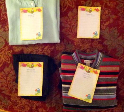 Packing scheme, November 21, 2014