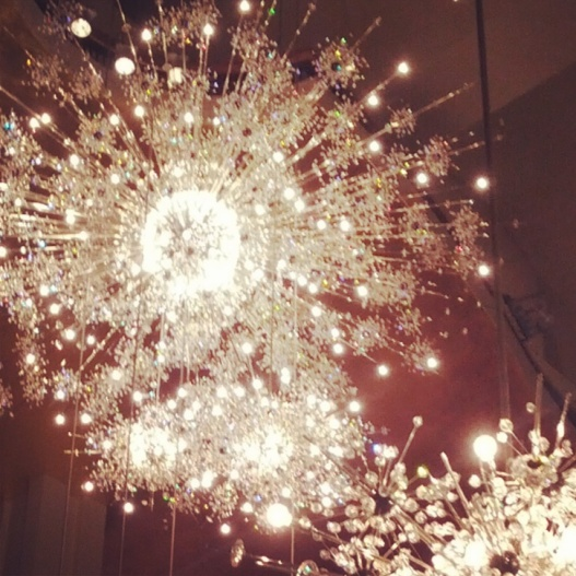 Lincoln Center chandeliers, December 4, 2014
