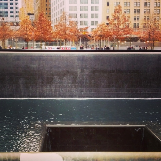 North reflecting pool, December 8, 2014