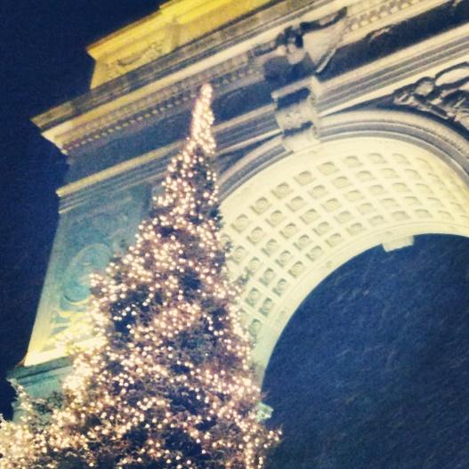 Sparkling tree, December 10, 2014