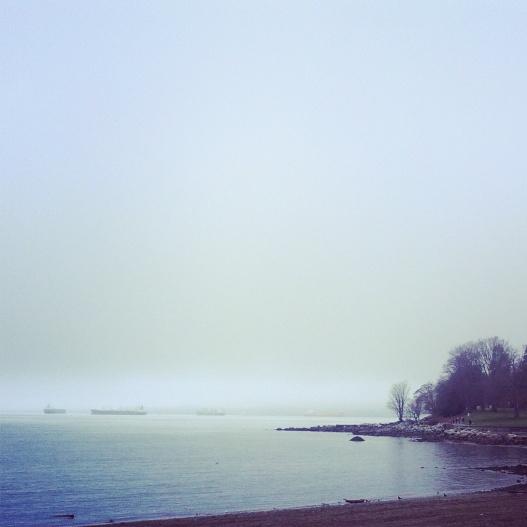 English Bay, 3:35 PM January 10, 2015