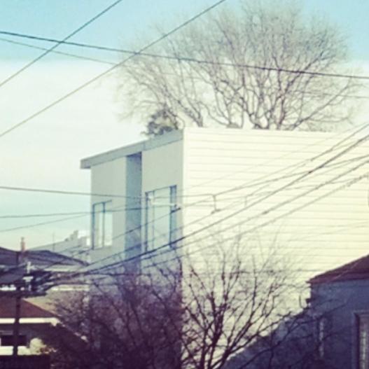 Potrero Hill skyscape, January 17, 2015