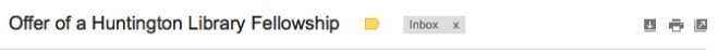 Auspicious subject line, February 3, 2015