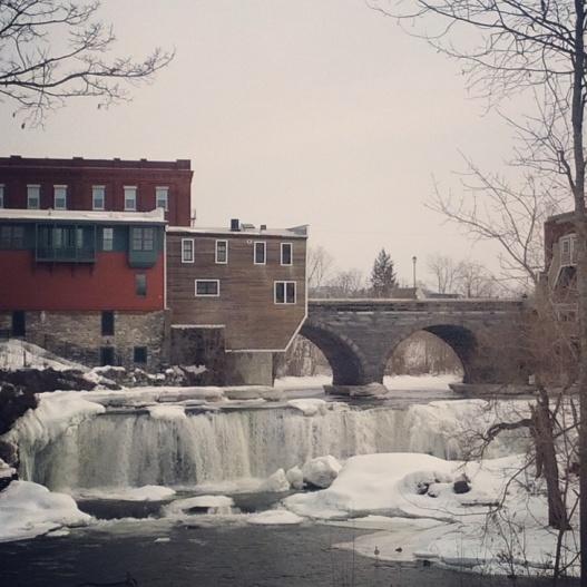 Otter Creek Falls, March 10, 2015