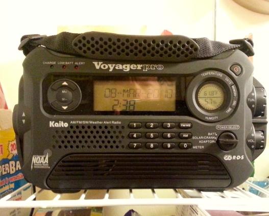 New radio, April 21, 2015