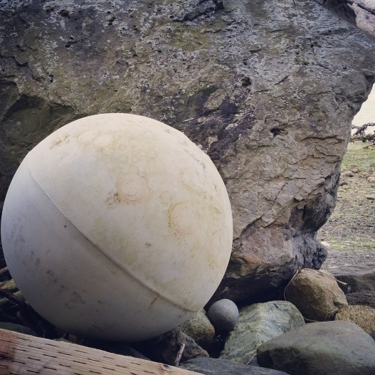 Washed up buoy, May 4, 2015