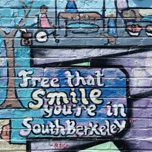 Smile liberation zone, May 20, 2015