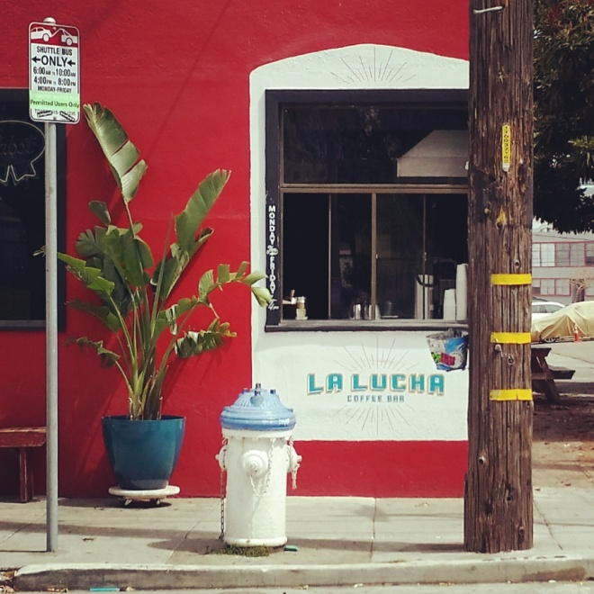 Coffee-stand addition to Parkside bar, June 27. 2015