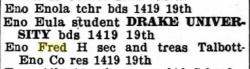 Des Moines City Directory, 1912