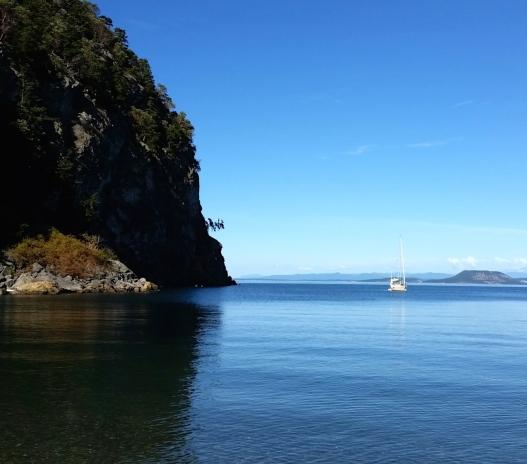 Tranquil Watmough Bay, again, August 9, 2015