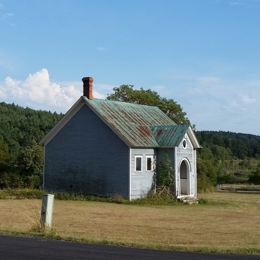 Old schoolhouse, August 10, 2015