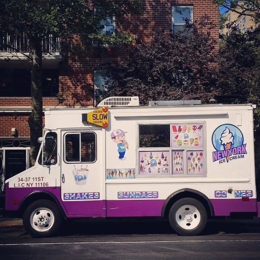 Ice cream truck, August 18, 2015