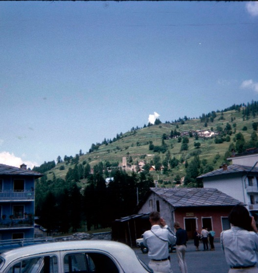 View of Agape from Prali, June 1964