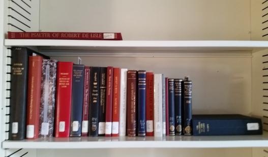 Office book shelf, September 29, 2015