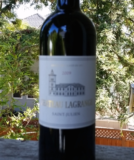 A special wine, September 26, 2015