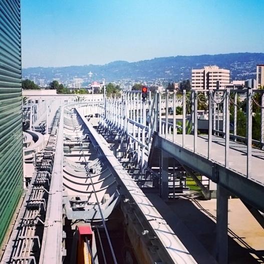 BART Oakland airport extension, September 25, 2015