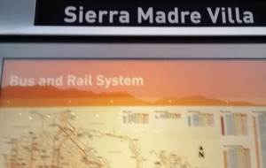 Metro Gold Line, Sierra Madre Villa Station, 7:06 AM October 30, 2015