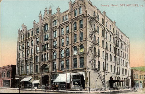 Savery Hotel Des Moines, IA